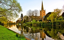 Stratford upon Avon  dil okullarını görüntülemek için tıklayın.