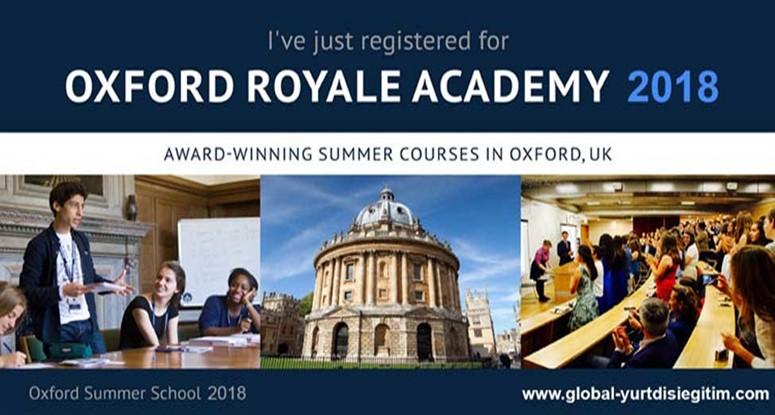 Oxford royale academy 2018 kayıtları başladı