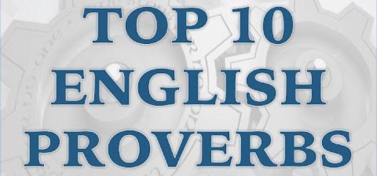İngilizce atasözleri ve Türkçe anlamları