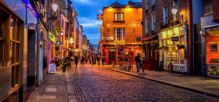 Dublin'de dil eğitimi
