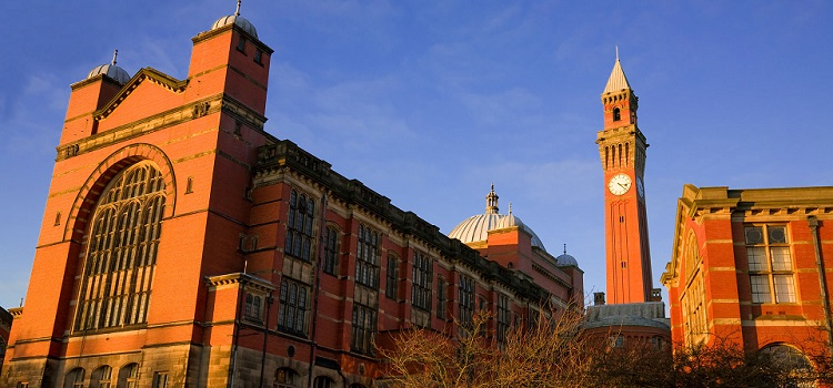 university of birmingham ingiltere