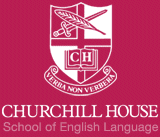 global yurtdışı eğitim, churchill house of english, logo