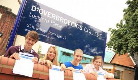 D'Overbroeck's College, ingilterede lise